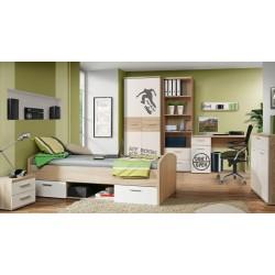 Jaunuolio kambario baldų komplektas Winnie 3