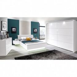 Miegamojo baldų komplektas Starlet white