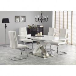 Valgomojo stalas Sandor 2 baltas