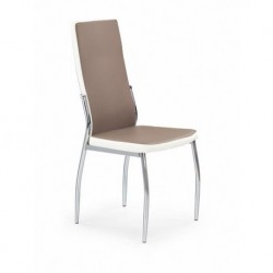 Kėdė K210 cappucino-balta